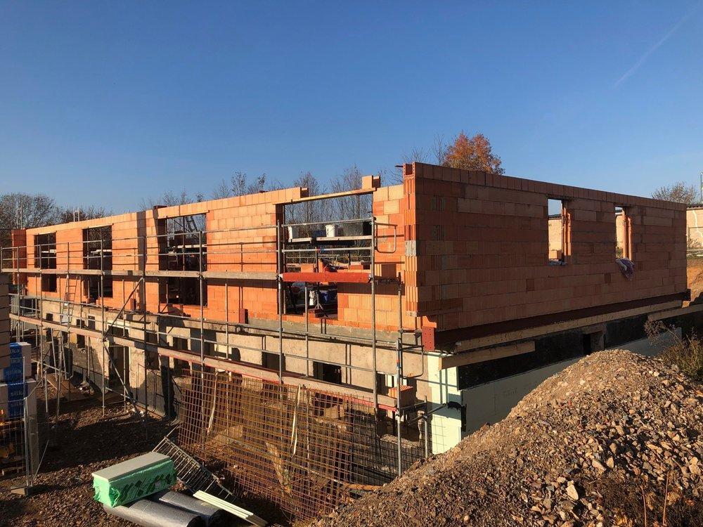 Baufortschritt Nov 2018