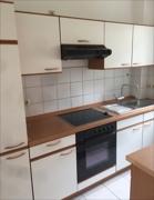 Küchenbereich mit Einbauküche