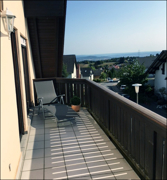 .. Zugang zum Balkon