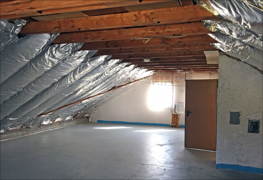 Dachgeschoss Ansicht 2