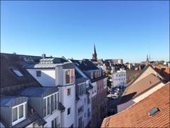 .. Blick über Aschaffenburg