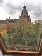 ..Blick auf das Schloss