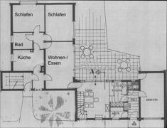 Erdgeschoss, Bestandsgebäude + Anbau 1