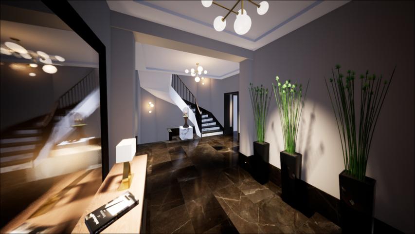 Visualisierung Foyer Ansicht 1