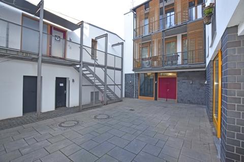 moderner Innenhofbereich