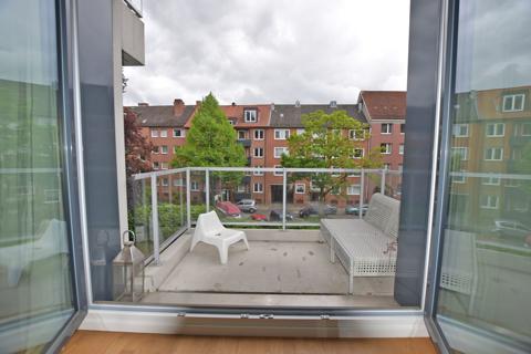 schöner Süd-Balkon