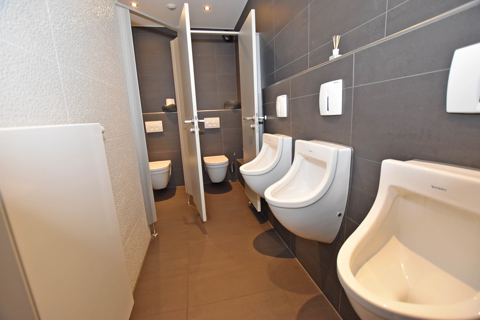 moderne Sanitäranlagen