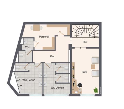1. Obergeschoss ohne