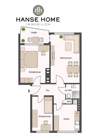 1. Obergeschoss rechts