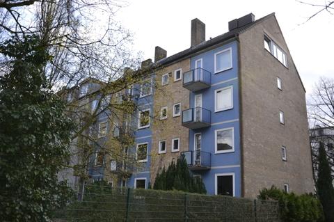 Balkonansicht der Wohnung