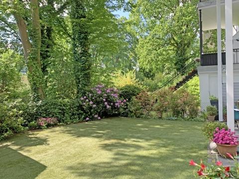prächtiger Garten