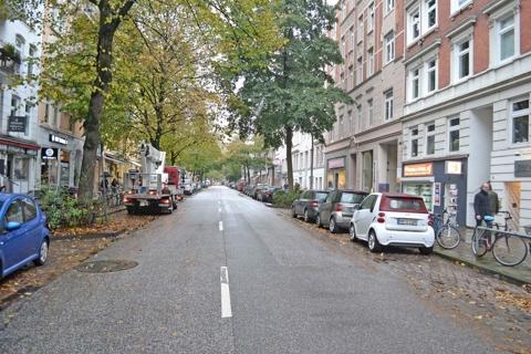 Einzugsgebiet Gertigstraße