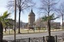 Friedrichsplatz - Wasserturm im Jugendstil-Park