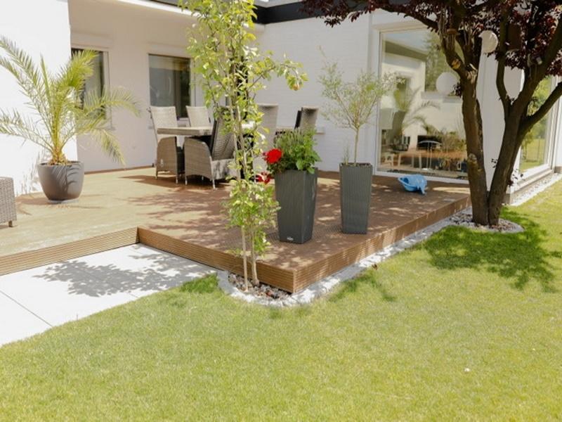 Genießen Sie Ihre Privatsphäre in Ihrem wunderschönen, angelegten Garten