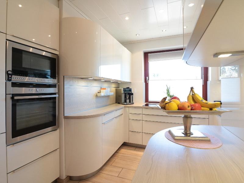 Schicke, moderne Küche