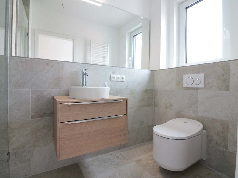 Modernes Gäste-Duschbad