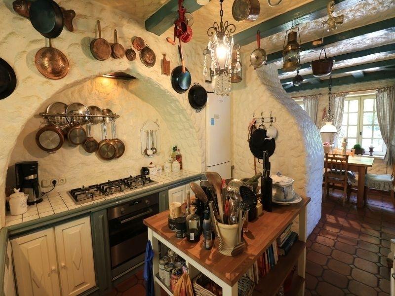 Küche im spanischen Ambiente