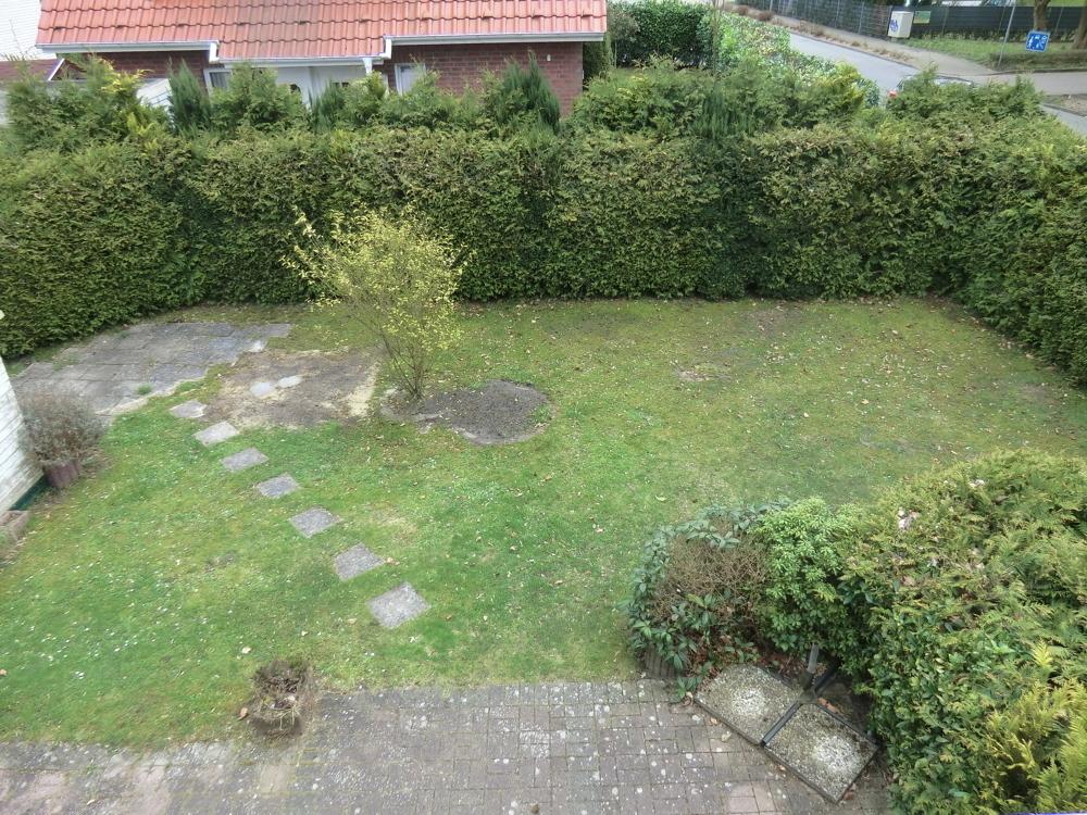 Ein Blick in den schönen Garten