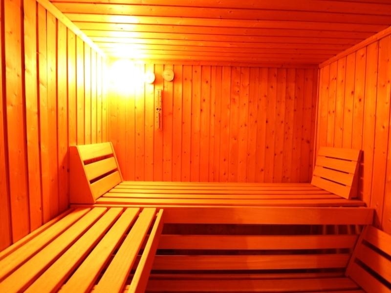 Finnische Sauna im Keller