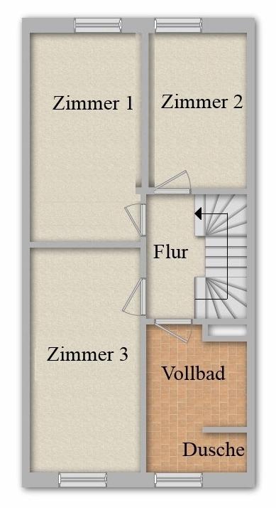 Grundriss Obergeschoss/Alternative
