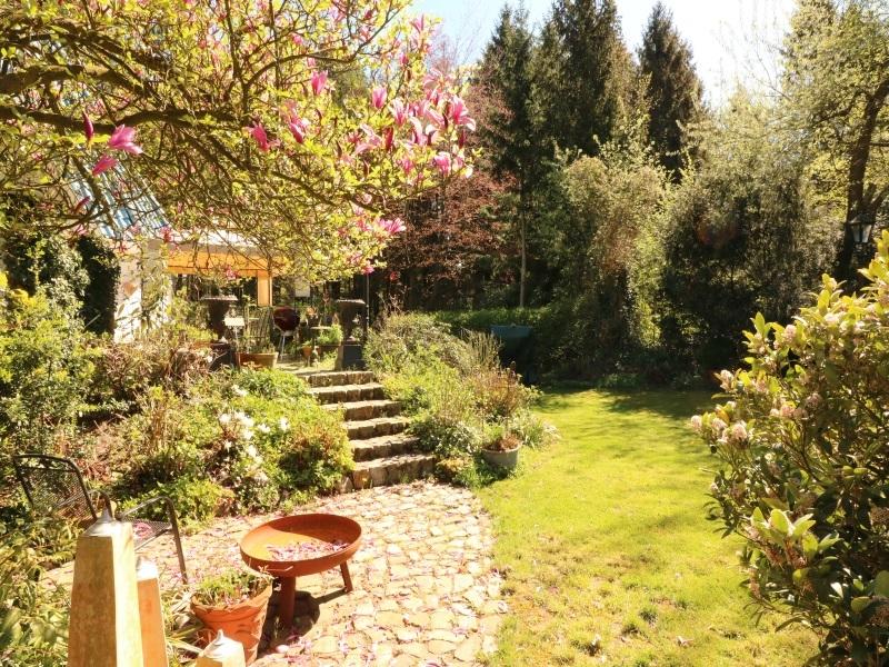 Hübsch angelegter Garten