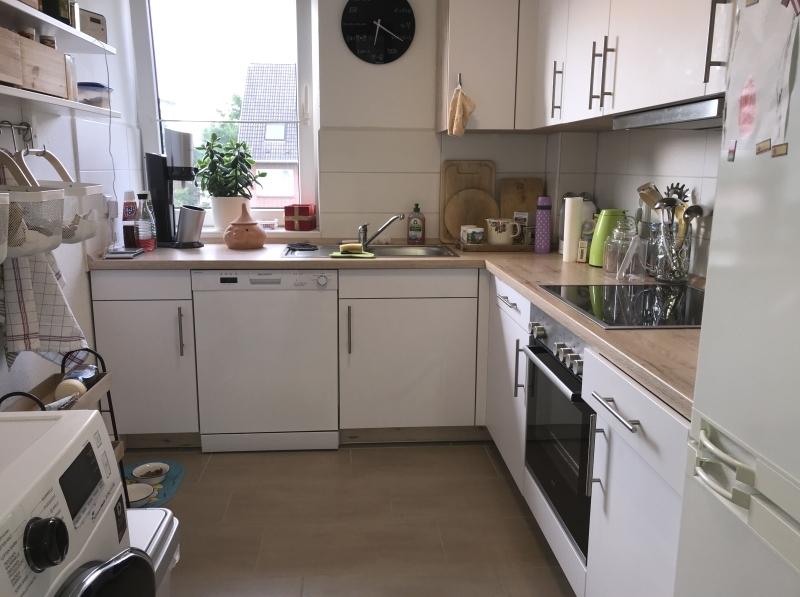 Helle, moderne Einbauküche