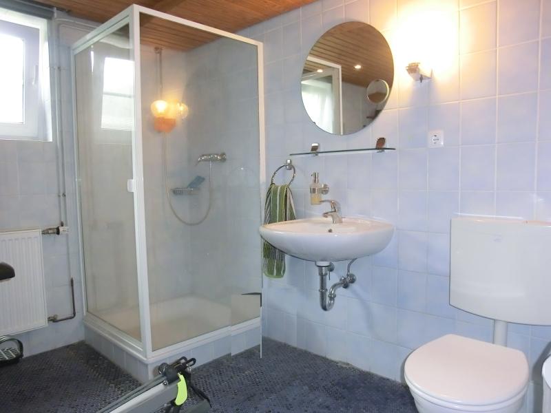 Duschbad im Keller