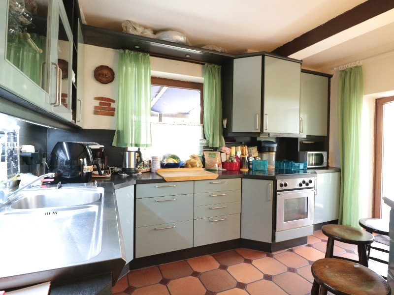 Moderne Einbauküche