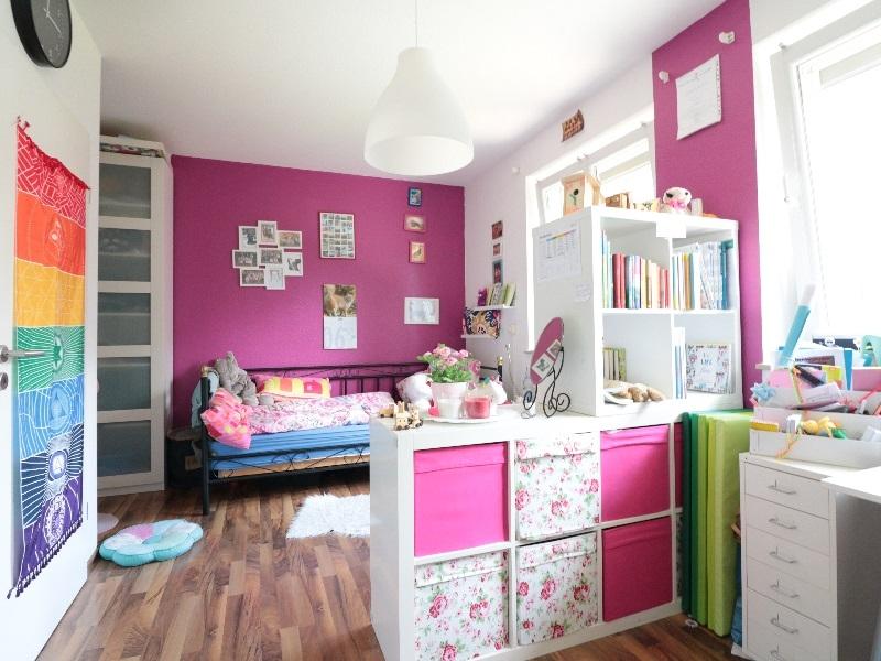 Kinderzimmer von sehr guter Größe