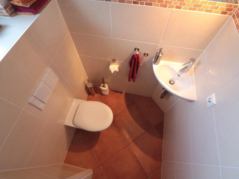 Schönes Gäste-WC
