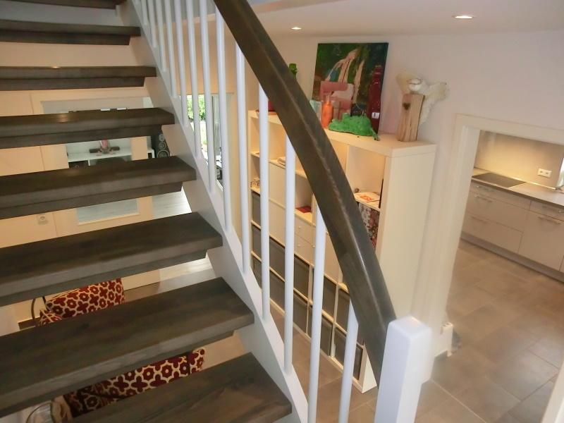 Treppenaufgang in das Obergeschoss