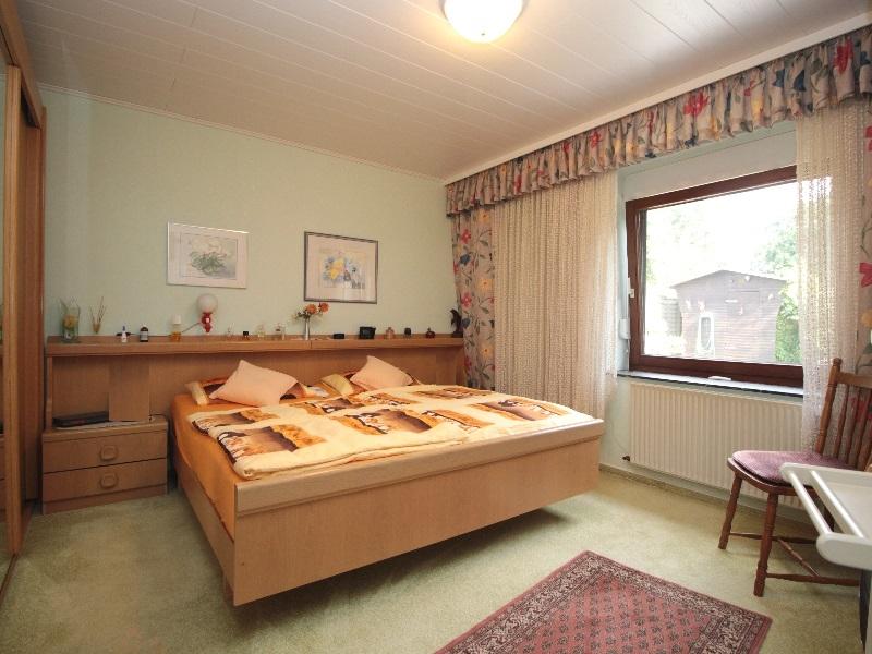 Großes Schlafzimmer im Privattrakt