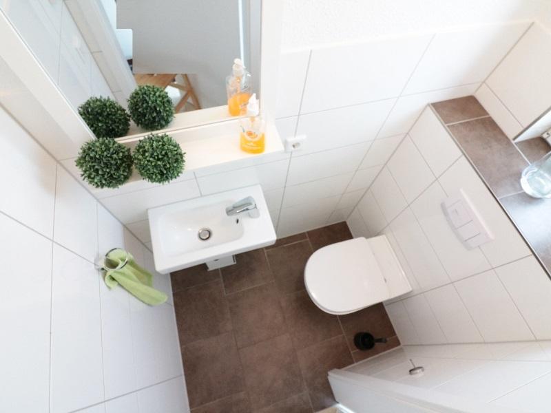 Modernes Gäste WC