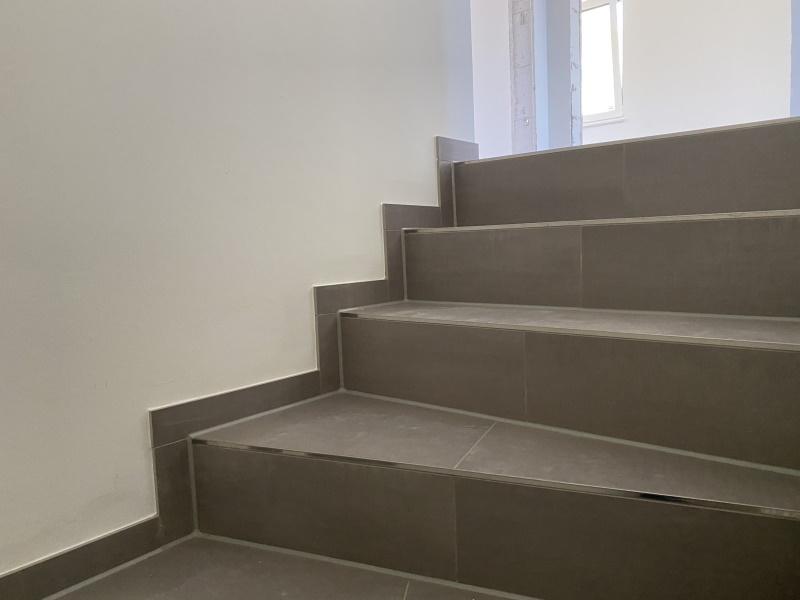 Treppe ins Obergeschoss