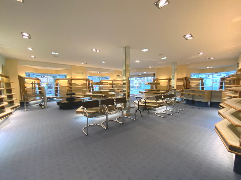Moderne Ladenfläche
