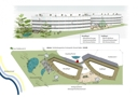 Panoramablick mit Lageplan
