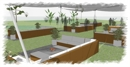 Chill Out Lounge Gartenbereich