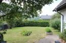 Blick von Eingang in den Garten