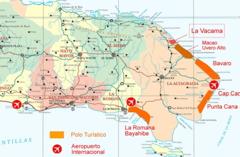 La Vacama - Map