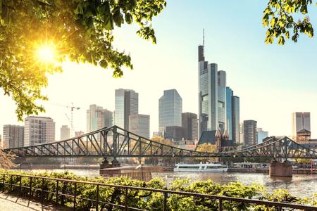 Stock-Bild Frankfurt