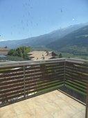 Balkon mit Ausblick über das Vinschgau
