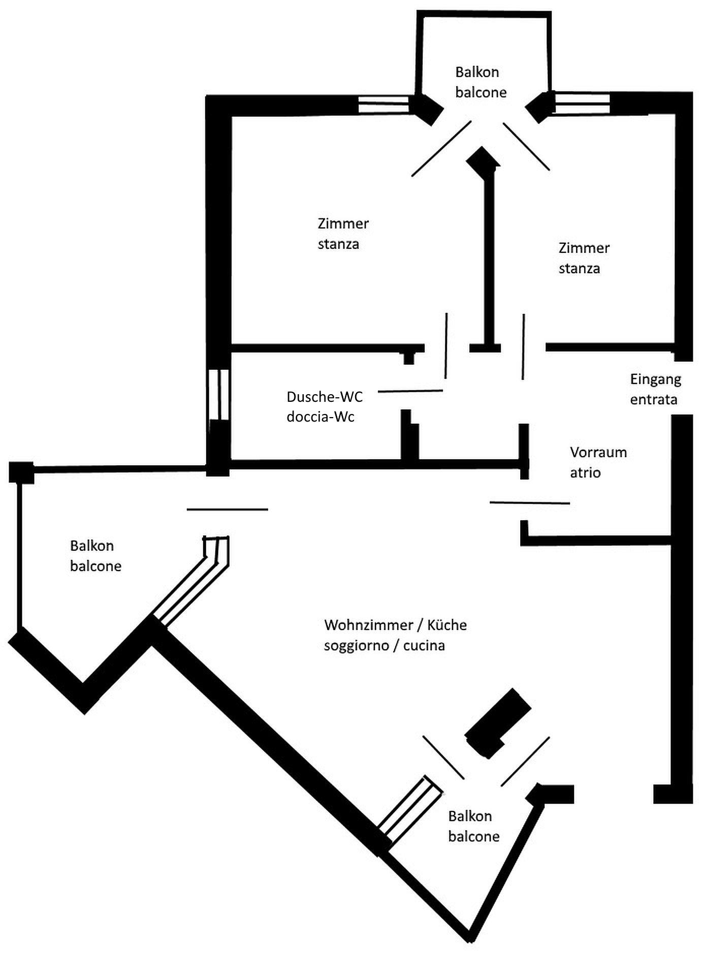 Plan Wohnung