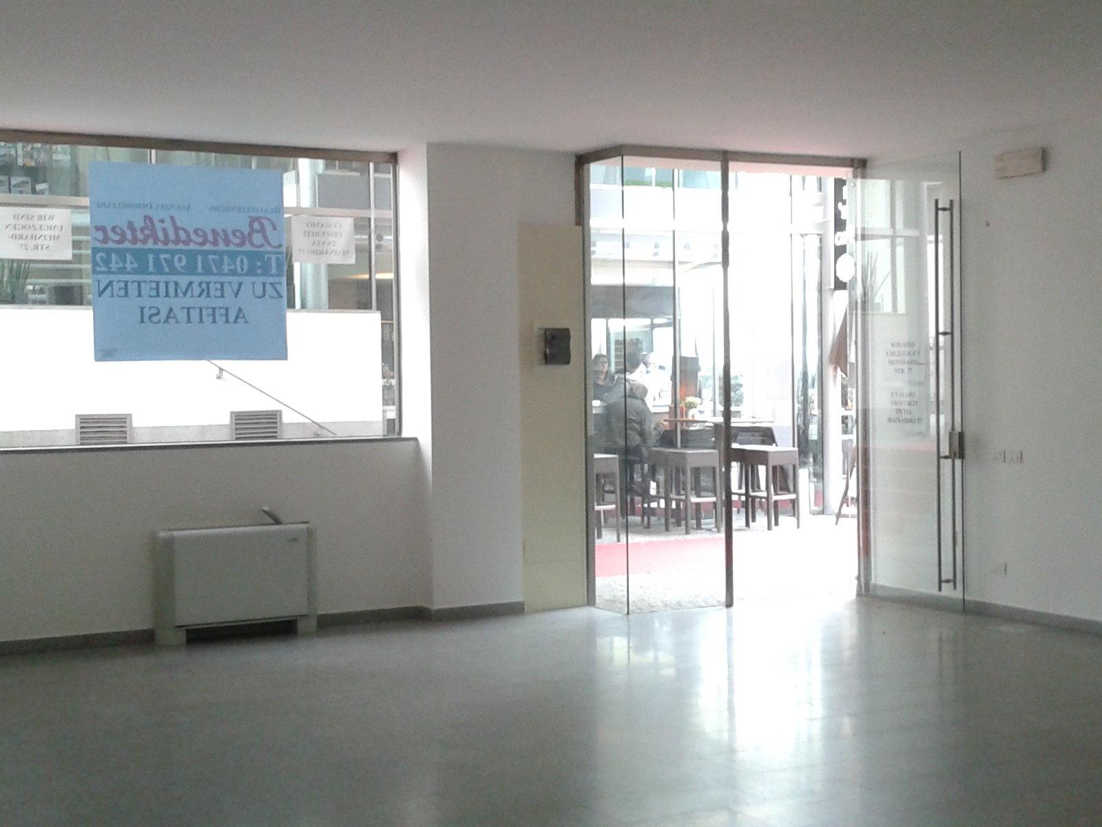 Heller Geschäftsraum