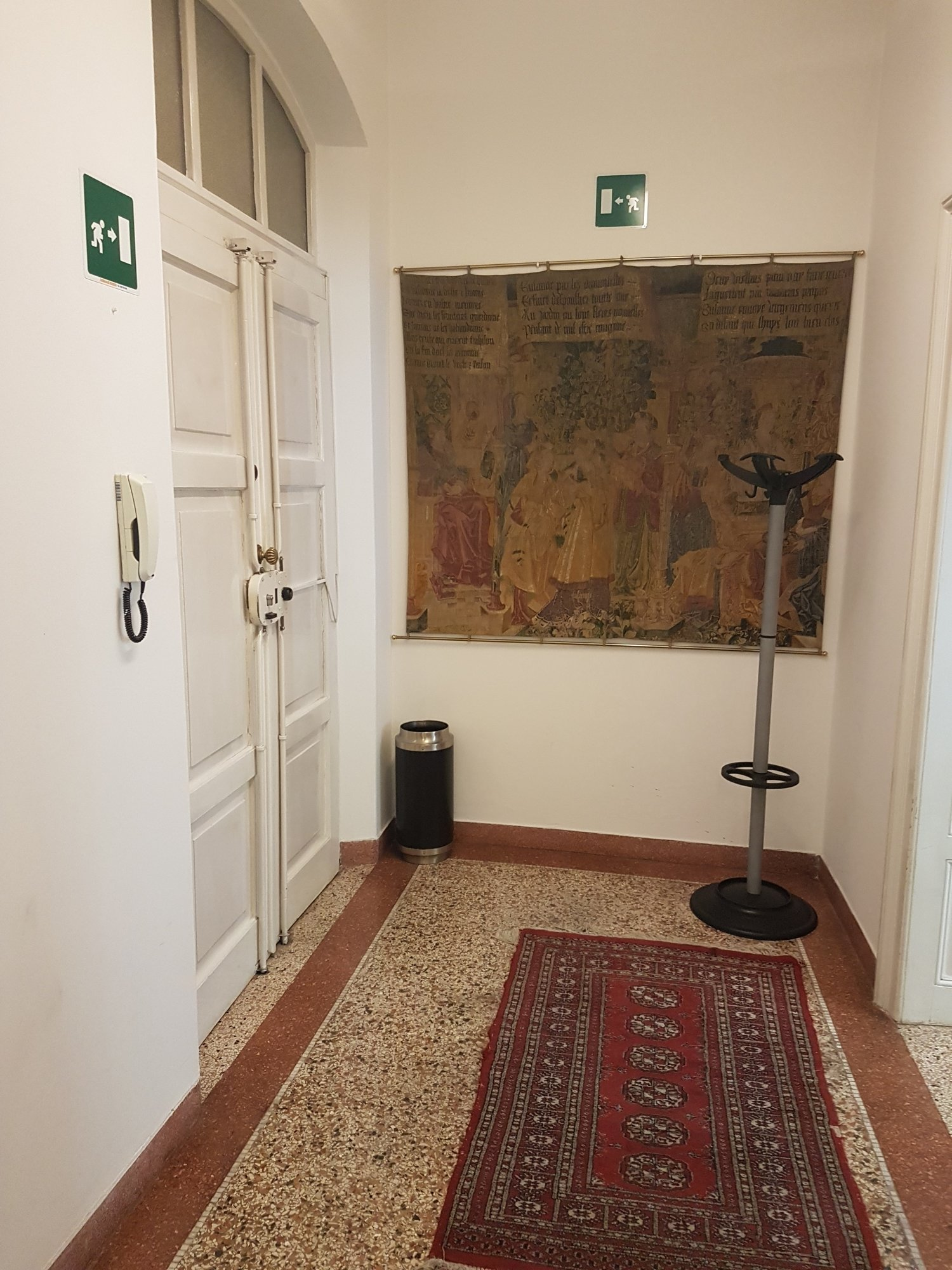 Eingangsbereich Büro_entrata ufficio