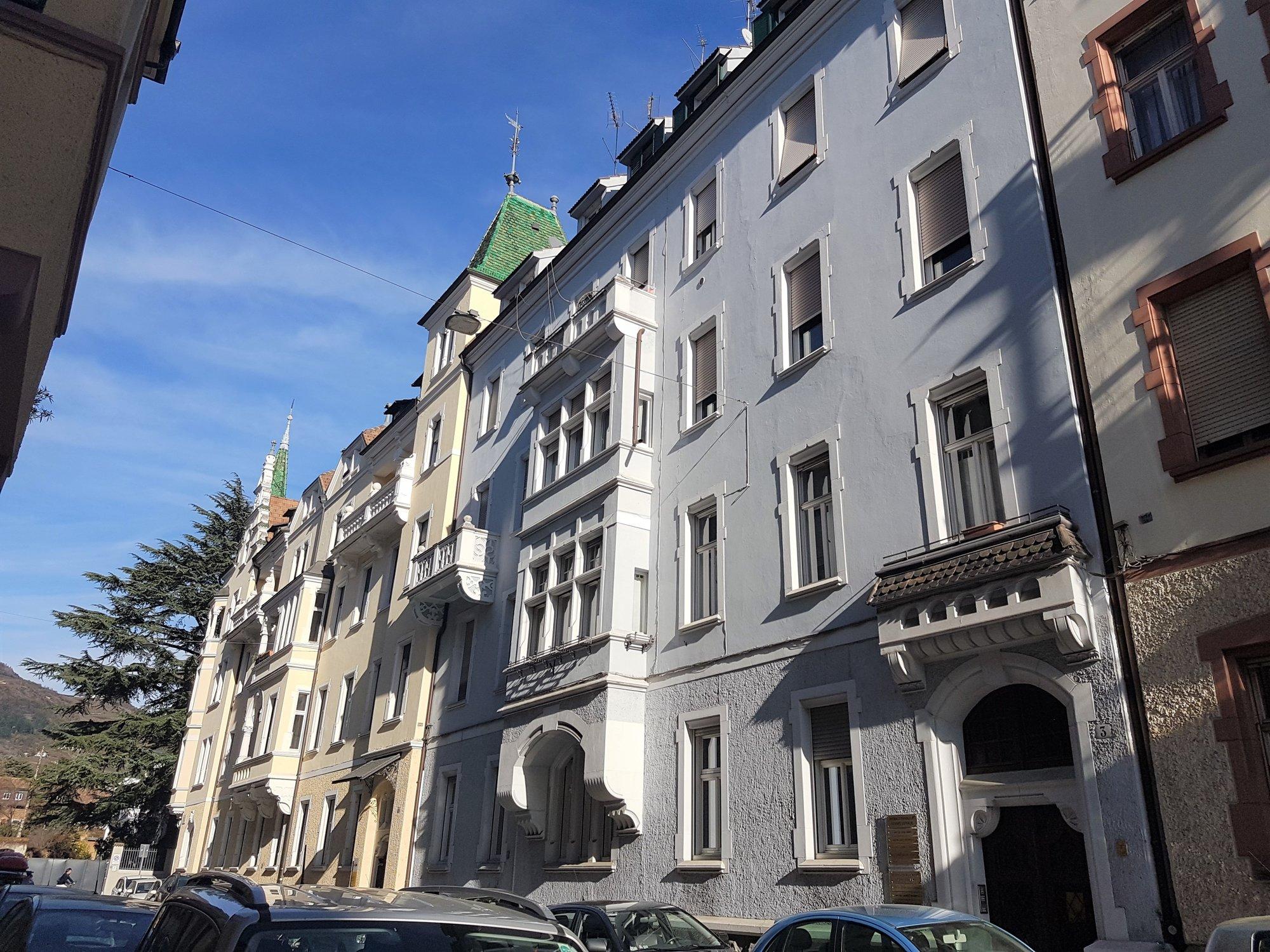 Fassade Talfergasse_facciata via Talvera