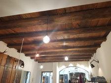 Schöne Decke mit Balken_bella soffitta