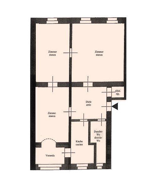 Geräumige Wohnung_appartamento spazioso