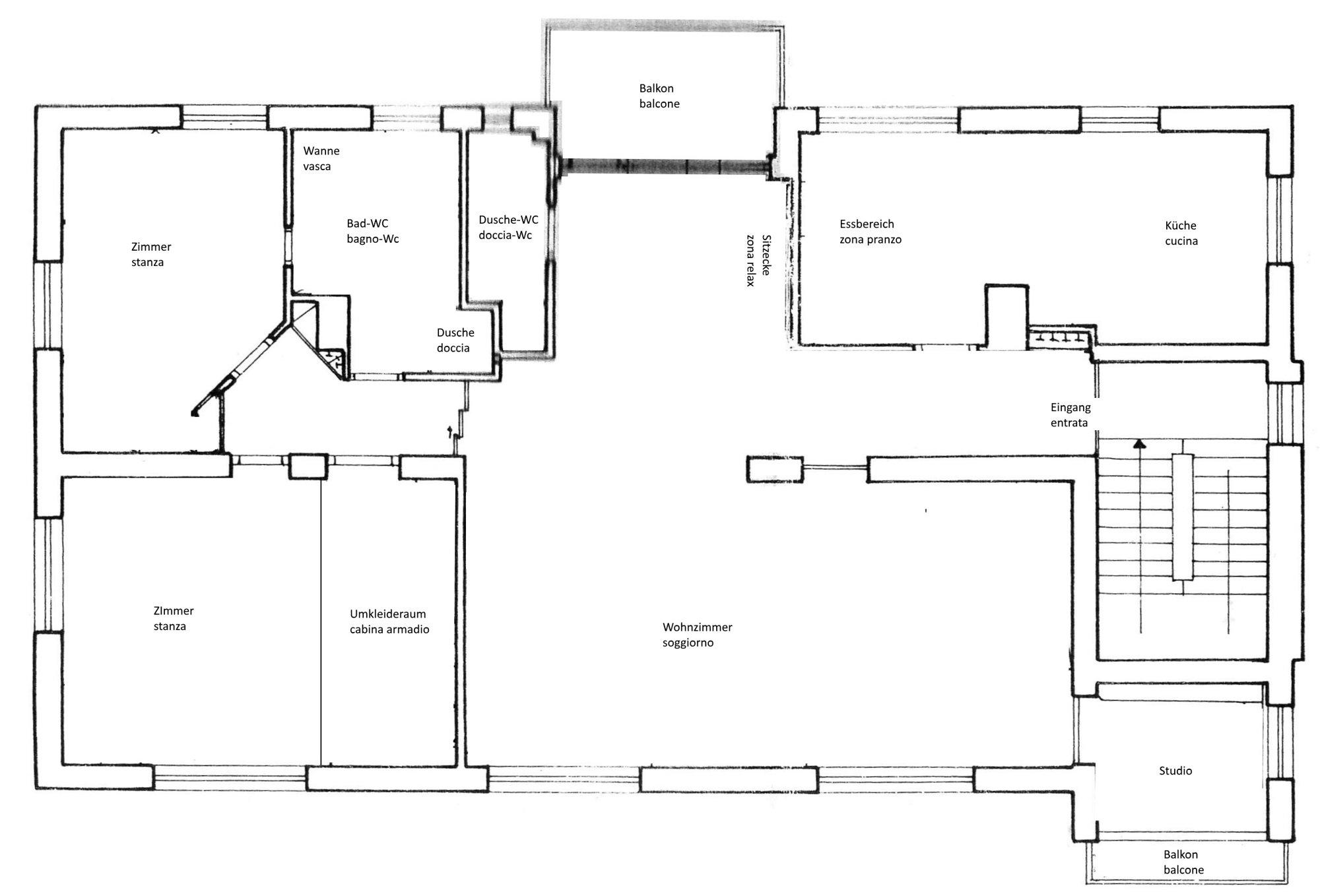 Plan Wohnung_piantina