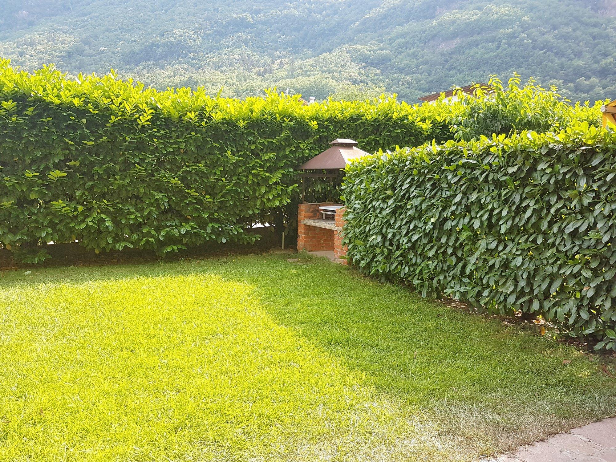 Garten mit Grillecke_giardino con barbecue