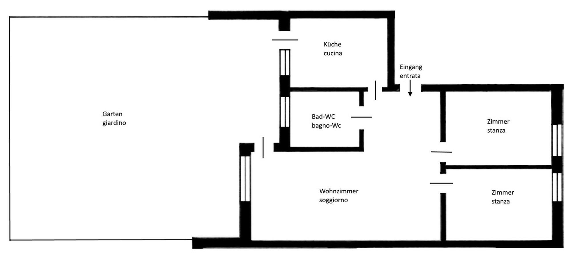 Plan Wohnung_piantina appartamento